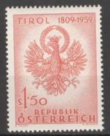 Österreich 1067 ** Postfrisch - 1945-60 Ungebraucht