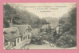 Vogesen - SAINT QUIRIN - Genesungsheim Schloss LETTENBABCH Bei ALBERSCHWEILER - XVI. Armeekorps - Guerre 14/18 - Ohne Zuordnung