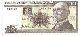 Kleines Lot Mit 3 Geldscheinen Kuba Von 1968 Und 2001 - Cuba