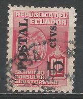 Ecuador 1951. Scott #545 (U) Arms Of Ecuador * - Equateur