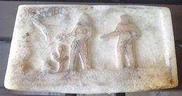Authentique Et Rarissime Pierre De Sel Sculptée TAOUDENIT MALI AFRIQUE - Art Africain