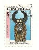 1984 - Guinea Bissau 295D Maschera - Culture