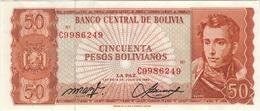 B24 - BOLIVIE 50 Pesos Bolivianos 1962 - Bolivia