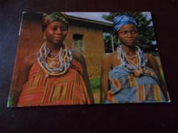 B714  Ghana Krabo Girls Viaggiata Presenza Di Strappino A Margine - Ghana - Gold Coast