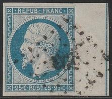 LOUIS NAPOLEON N°10b Avec Filet D'encradement Signé CALVES - 1852 Louis-Napoléon
