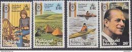Falkland Islands 1981 Duke Of Edinburgh Awards 4v ** Mnh (41750) - Falklandeilanden