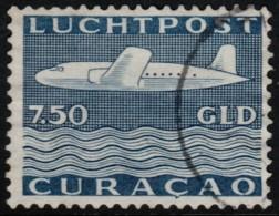 ~~~  Curacao 1947 - Airmail 7½ Gulden  - NVPH LP85 (o) CV 110.00 Euro ~~~ - Curaçao, Nederlandse Antillen, Aruba