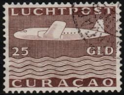 ~~~  Curacao 1947 - Airmail 25 Gulden  - NVPH LP88 (o) CV 110.00 Euro ~~~ - Curaçao, Nederlandse Antillen, Aruba