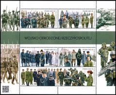 Poland 2018 Fi BLOK 324 Mi BLOCK 281 Army Of The Reborn Republic Of Poland - 1944-.... República