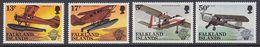 Falkland Islands 1983 Bicentenary Of Manned Flight  4v ** Mnh (41751) - Falklandeilanden