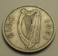 1961 - Irlande - Ireland Republic - 1 FLORIN (2 Shillings), Salmon, KM 15a - Irlande