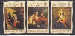 Falkland Islands 1981 Christmas 3v ** Mnh (41752) - Falklandeilanden