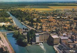 10 Nogent Sur Seine Les Bords De La Seine Et Les Moulins (2 Scans) - Nogent-sur-Seine