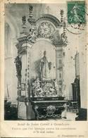 QUAEDYPRE  Autel De St Cornil  1908  Cachet OR Au Dos - France