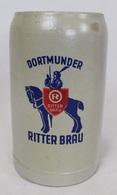 Chope à Bière En Grès - Dortmunder Ritter Brau - Vaisselle, Verres & Couverts