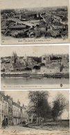 4 CPA  -  BLOIS  (41)   Le MAIL -  Le Chateau, L'Eglise St Nicolas, -  Faubourg De Vienne - Maison De Denis Papin - Blois