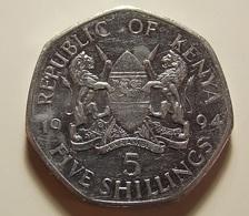 Kenya 5 Shillings 1994 Varnished - Kenya