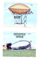Micronesie 2000-Zeppelins, YT 904/9 FEUILLET+B75/76***MNH - Zeppelins