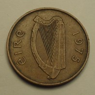 1975 - Irlande - Ireland Republic - 2 PENCE - KM 21 - Irlande