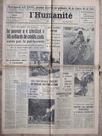 Journal L'Humanité (26 Mai 1966) B Guyot - Crédits Civils - Esparros - Assises Enfance Heureuse - P Badel - 1950 - Oggi