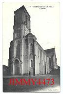 CPA- L' Eglise De CHAMPTOCEAUX 49 Maine Et Loire - Coll. F. Chapeau Nantes N° 11 - Champtoceaux