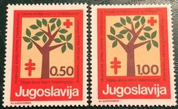Yugoslavia, 1977, Mi: ZZ 56-57 (MNH) - 1945-1992 Socialist Federal Republic Of Yugoslavia