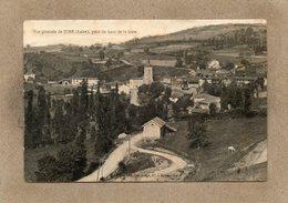 CPA - JURé (42) - Aspect Du Bourg, Vue Prise De La Gare, Au Début Du Siècle - Otros Municipios
