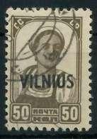 BES. 2WK LITAUEN Nr 15 Gestempelt Gepr. X88A15A - Bezetting 1938-45