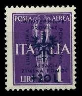 BES. 2WK LAIBACH Nr 42 Ungebraucht Gepr. X88A29E - Bezetting 1938-45