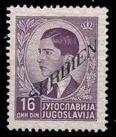 BES. 2WK SERBIEN Nr 43 Ungebraucht X88A312 - Bezetting 1938-45