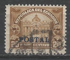Ecuador 1928. Scott #273 (U) Post Office, Tax Stamp ** - Equateur