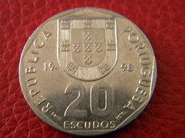 20 ESCUDOS 1998 - Portugal