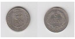 VENEZUELA -5 CENTIMOS 1965 - Venezuela