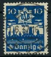 DANZIG 1937 Nr 267 Zentrisch Gestempelt X88D0A2 - Danzig