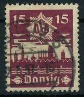 DANZIG 1937 Nr 268 Gestempelt X88D0B6 - Danzig