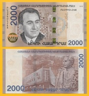 Armenia 2000 Dram P-new 2018 UNC - Arménie