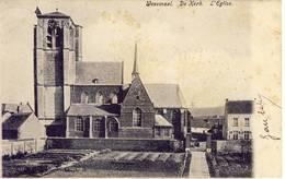 Wesemael  Wezemaal Rotselaar De Kerk Sterstempel 1910 - Rotselaar