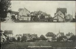 MÜNCHWILEN Dorfpartien Gel. 1914 Feldpost - TG Thurgau