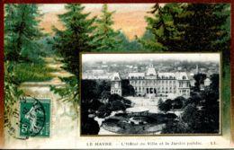 N°69328 -cpa Le Havre -l'hôtel De Ville-et Le Jardin Public- - Other