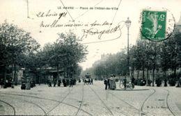 N°69330 -cpa Le Havre -place De L'hôtel De Ville- - Other