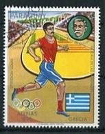 SPIRIDON LOUIS MARATONISTA JUEGOS OLIMPICOS / OLYMPIC GAME ATENAS 1896 GRECIA - PARAGUAY OBLITERES / USED 1977 - LILHU - Summer 1896: Athens
