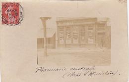Cpa Photo Blois - Pharmacie Centrale E Roger - Cliché De L'auteur Du Courrier Nom ? - Blois