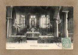 CPA - BONNETABLE (72) - Aspect De L'intérieur De L'Eglise En 1905 - Bonnetable