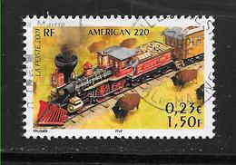 FRANCE 3406 Légendes Du Rail Locomotives Trains Transport Ferroviaire AMERICAN 220  . - France