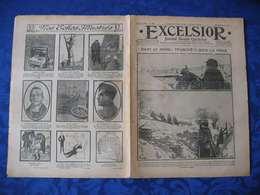 L'EXCELSIOR De 1915 N°1561, La Une: DANS LE NORD : TRANCHEES SOUS LA NEIGE... - Journaux - Quotidiens