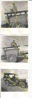 Photo   Jeep Avion Remorque  Militaire Militarie    / N° 310   ) - Véhicules