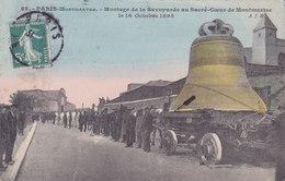 75. Montmartre. Montage De La Savoyarde. TBE - Sacré-Coeur
