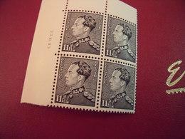 Timbres De Belgique  Effigie De S..M Roi Léopold !!!  Le 21-12-1983 Neuf** N* 2111   Bloc De '4 - 1934-1935 Léopold III