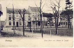 Montaigu Scherpenheuvel Place Albert Avec Maison St.Joseph 1904 - Scherpenheuvel-Zichem