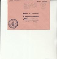 L 3 -  Enveloppe Gendarmerie Du Piton St Leu   Poste SAINT DENIS - Réunion - Drogue - Alcool - Cachets Militaires A Partir De 1900 (hors Guerres)
